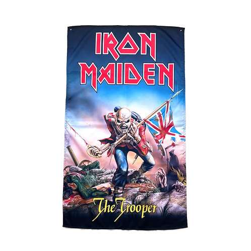 Iron Maiden Textile Poster (with two wall sticky hooks)