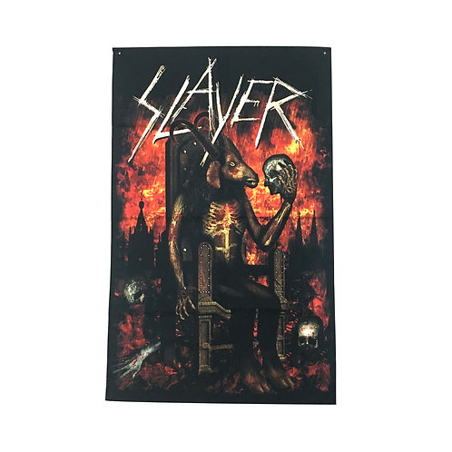 Slayer Textile Poster (with two wall sticky hooks)