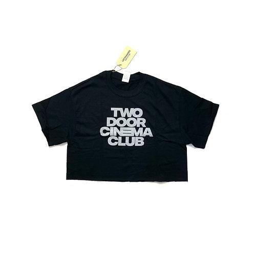 Two Door Cinema Club Crop T Shirt