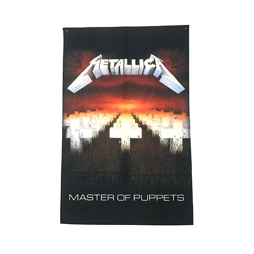 Metallica Textile Poster (with two wall sticky hooks)