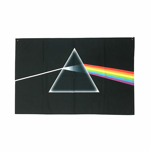 Pink Floyd Textile Poster (with two wall sticky hooks)