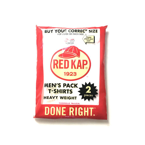 Red Kap Heavy Weight Pack T Shirt (2 pieces)
