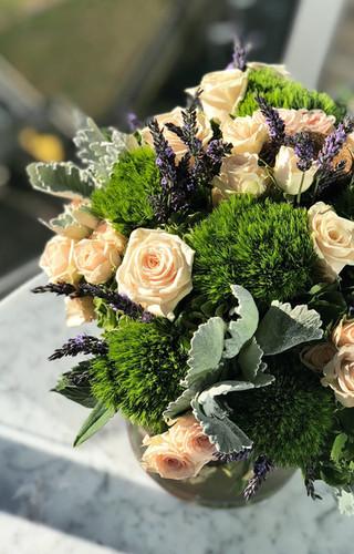 vancouver florist flower arrangement