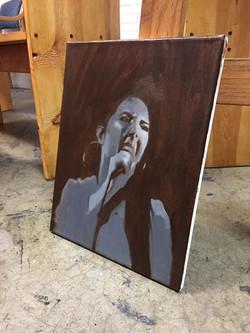 """DAVI"" Oil Painting"