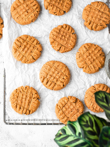 Kid-Approved Healthy Peanut Butter Cookies