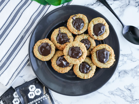 Chewy Paleo Chocolate-Filled Cookie Cups