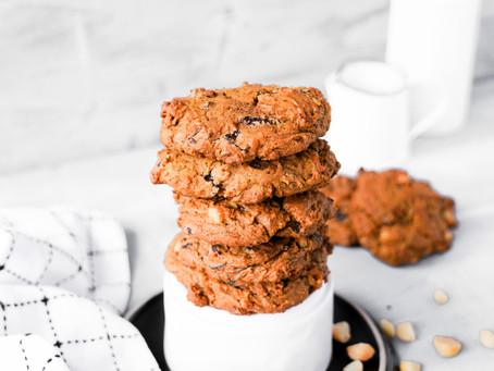 Not-So-Healthy Pumpkin Cookies