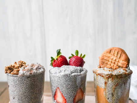 Paleo Chia Pudding, 3-Ways