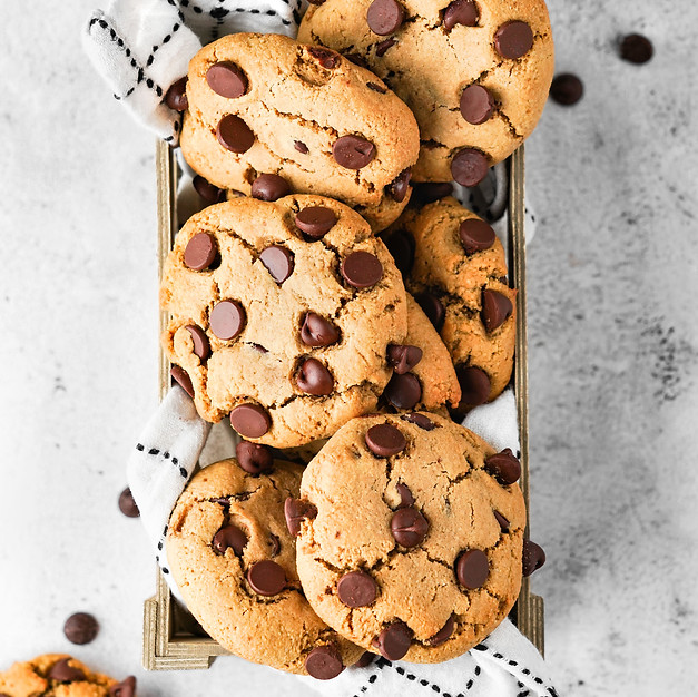 Easy, No-Chilling Paleo Chocolate Chip Cookies