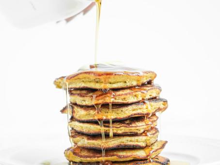 Fluffy Paleo Banana Pancakes