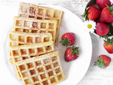 Fluffy Low-Carb Waffles