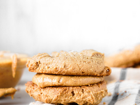Peanut Butter-Stuffed Cookie Sandwich