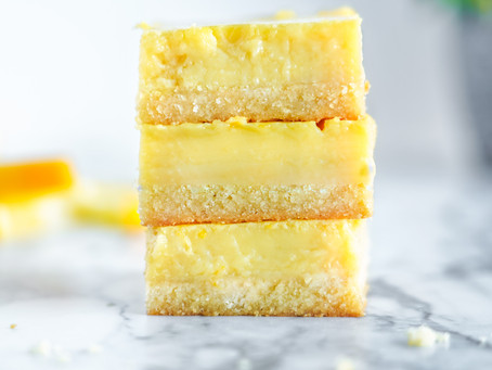 Tangy Paleo Lemon Bars