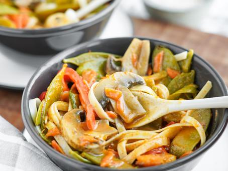 Thai Curry Veggie & Shrimp