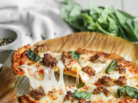 Super Low-Carb Cheesy Pizza