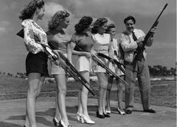 GIRLS SHOOTING