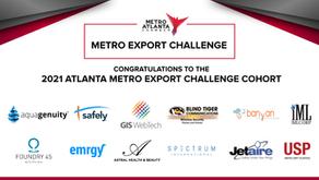 Metro Atlanta Chamber Announces 2021 Atlanta Metro Export Challenge Grant Recipients in Partnership