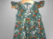 Kleid mit Flügelärmel