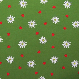 Edelweiss Grün ökotex