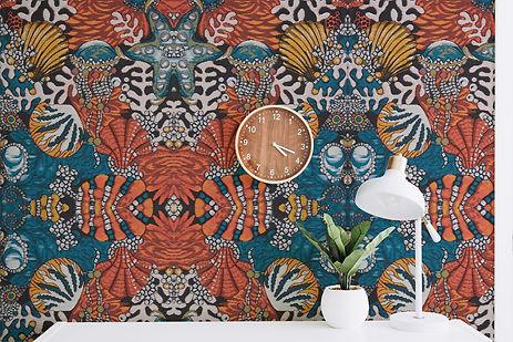 mary katrantzou wallpaper mockup
