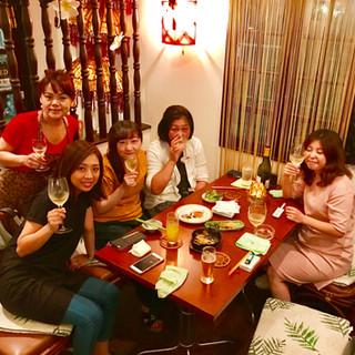 大網 飲み会 コース バー 女子会 誕生日会 ママ会