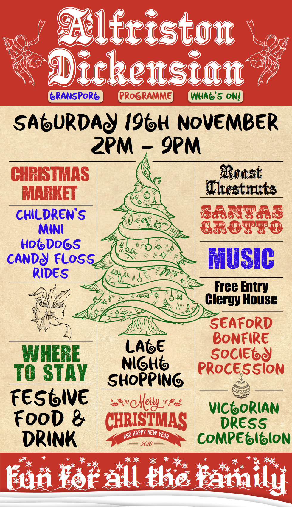 Alfriston Dickensian 19th November 2016 Father Christmas Market Santa Bonfire Procession Food and Drink