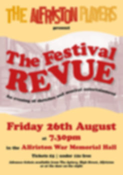 Alfriston Festival Revue An evening of sketches and musical entertainment alfriston war memorial hall tickets The Apiary High Street Alfriston