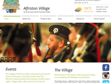 The Alfriston Village Website