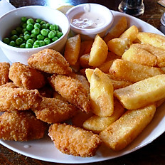 Deep Fried Scampi Tails