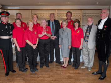 Outstanding Alfriston and Cuckmere Heartstart awarded the 'Queen's Award for Voluntary Servi