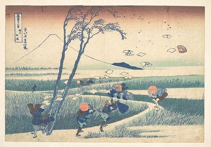 Katsushika-Hokusai-1760–1849-Suruga-Eji