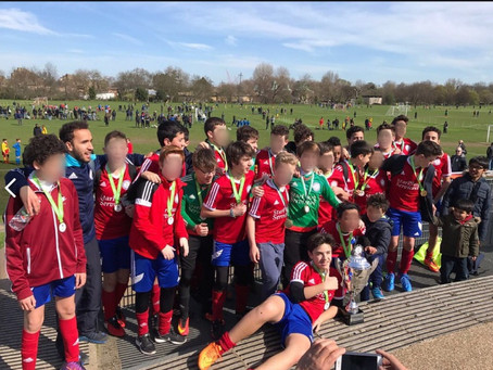 League winners Camden and regents park youth league 2016-2017
