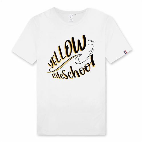 T-shirt homme yellow kite school