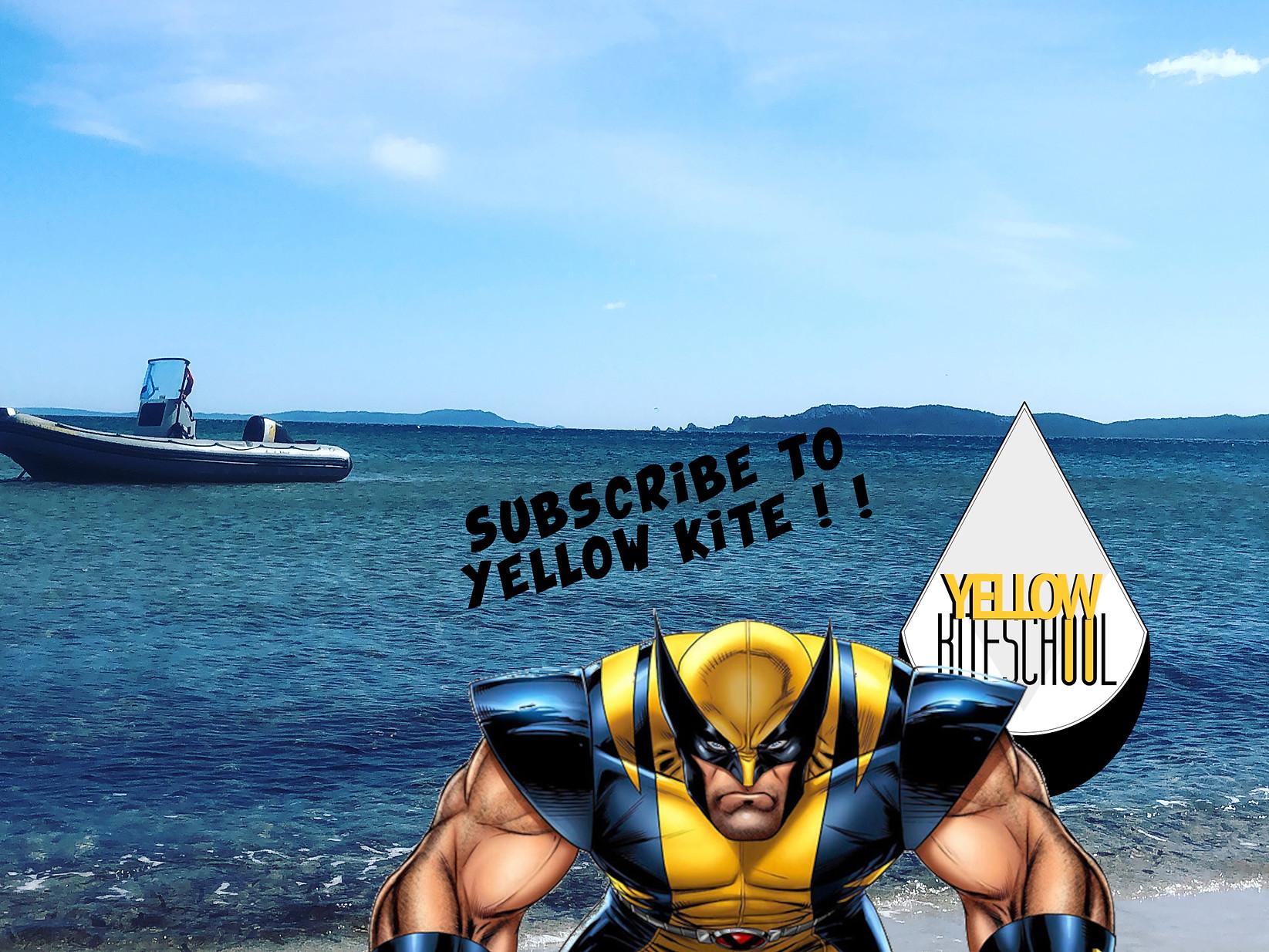 Yellow kite school école de kitesurf var hyères yellow shop