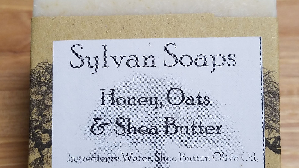 Shea, Honey, & Oatmeal soap