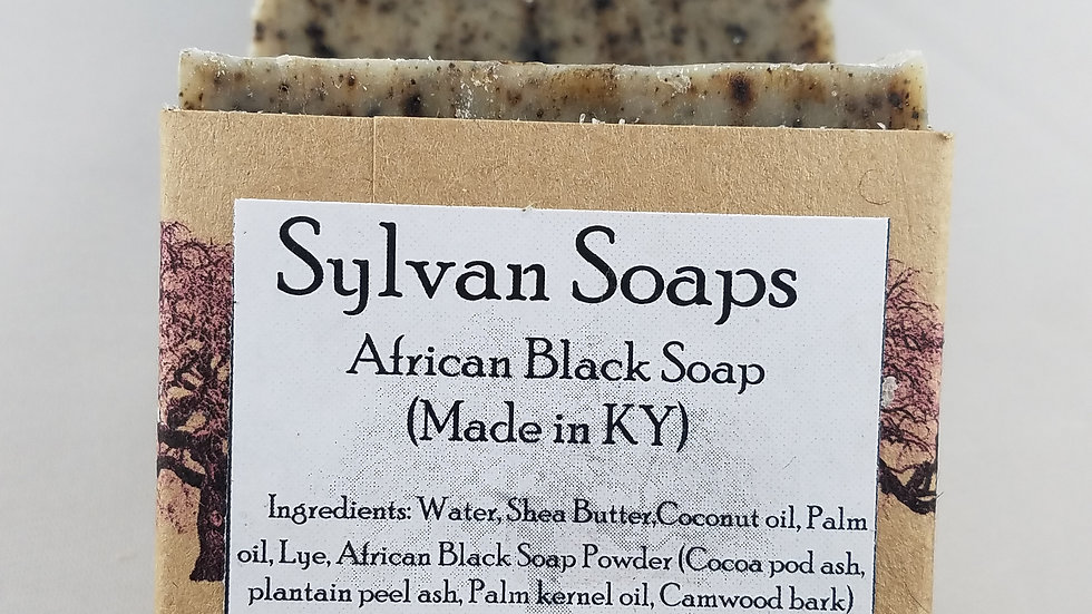 African black soap (made in Kentucky)