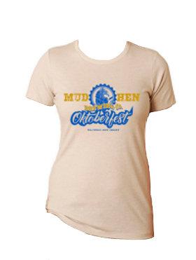 MudHen Oktoberfest T- Shirt Women -Organic