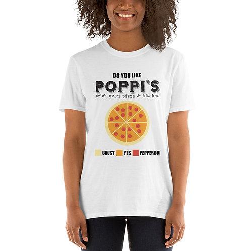 DO YOU LIKE PIZZA? Short-Sleeve Unisex T-Shirt