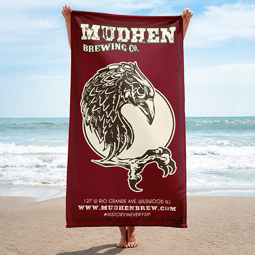 MudHen Brewing Beach Towel