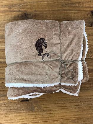 Sherpa Blanket - Mocha