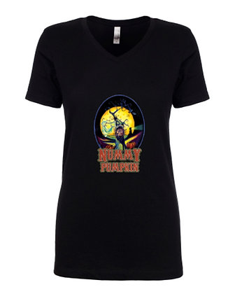Nummy Pumpkin Tee - (Women) Black