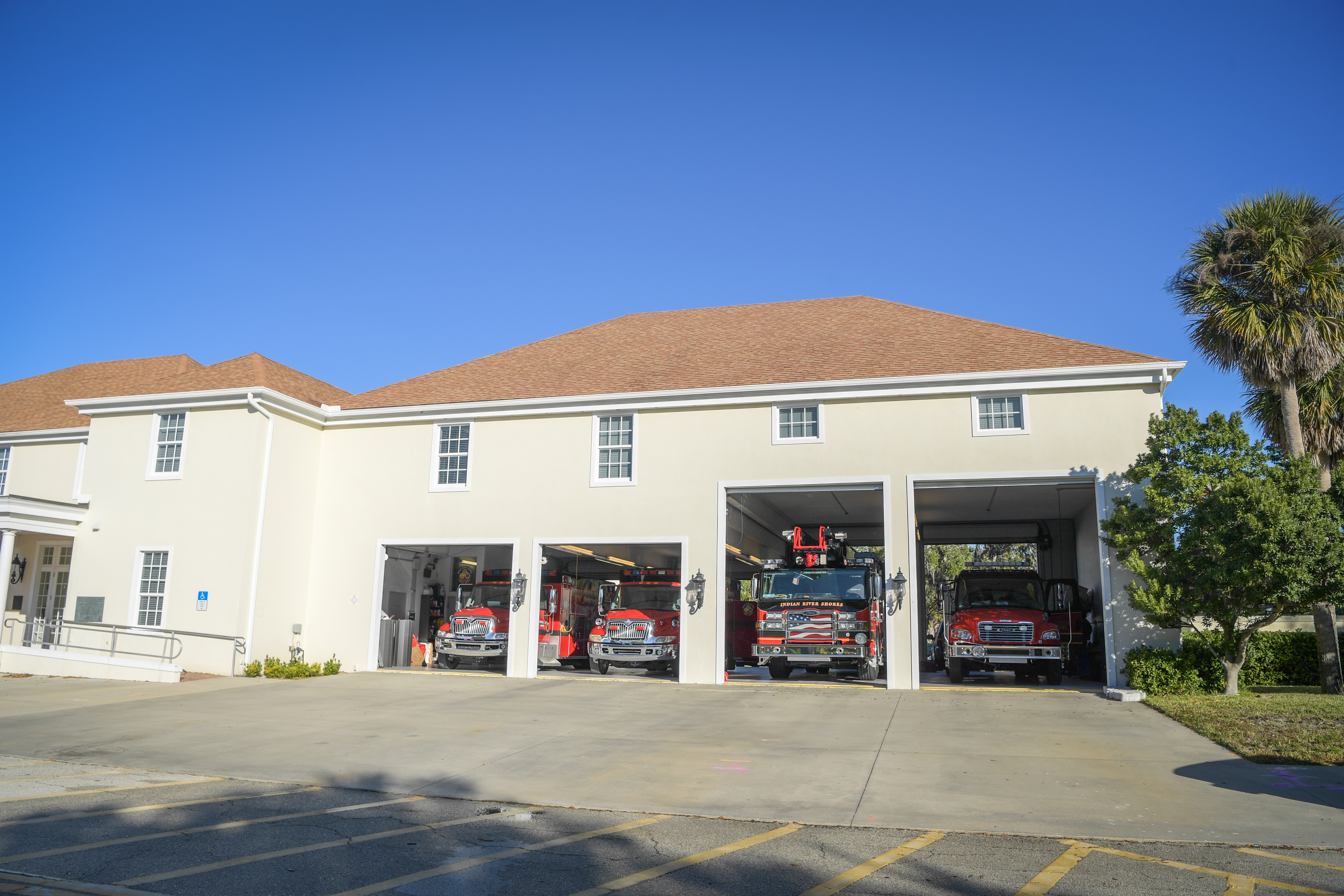 Front of station #2