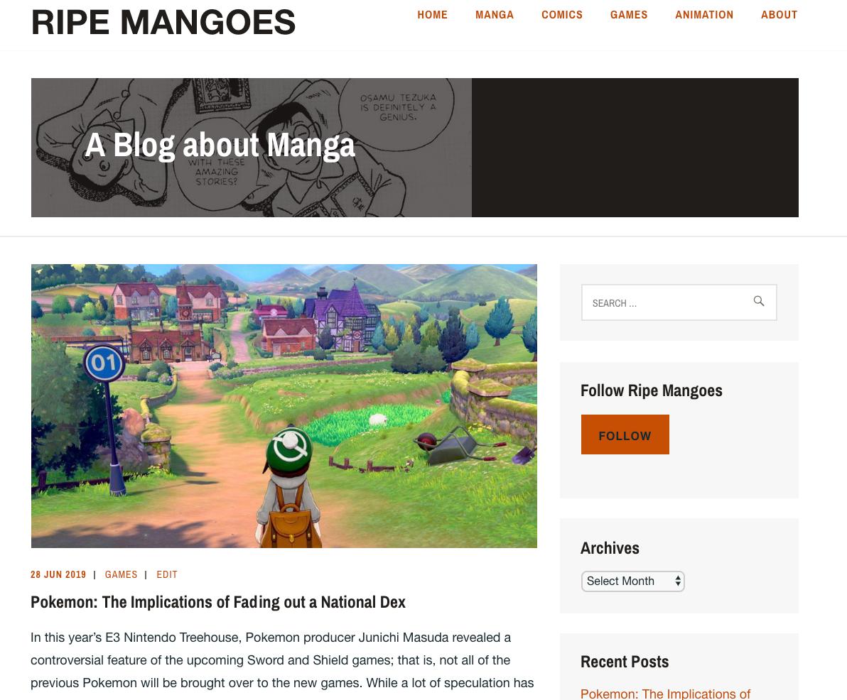 Ripe Mangoes Site