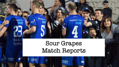 Sour Grapes Match Reports
