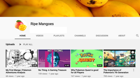 Ripe Mangoes Youtube Channel