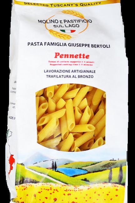 Pennette Rigate Bertoli Toscana 500gr