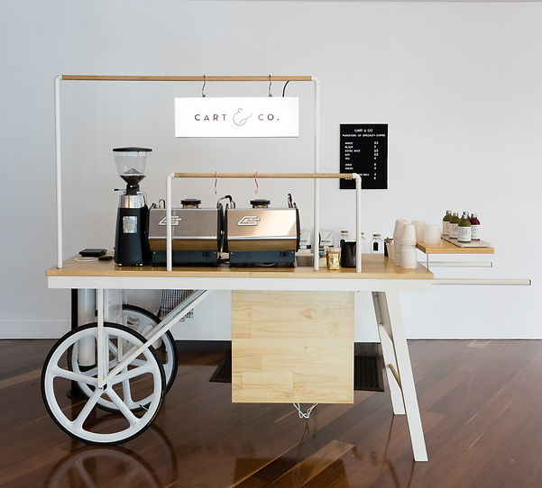 Custom made Coffee Cart