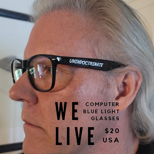 UNINDOCTRINATE Blue Light Computer Glasses (USA ONLY)