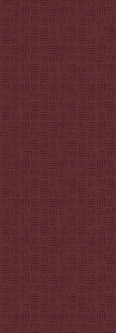 Crimson Basketweave
