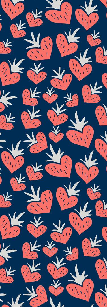 strawberry fields forever { navy }